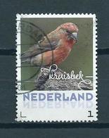 2018 Netherlands Birds,oiseaux,vögel,kruisbek Used/gebruikt/oblitere - Periode 2013-... (Willem-Alexander)