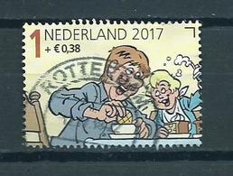 2017 Netherlands Child Welfare,kinderzegels,Jan Jans,comics Used/gebruikt/oblitere - Periode 2013-... (Willem-Alexander)