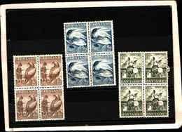 73253)  GROELLANDIA-QUARTINE -LEGGENDE GROELLANDESI-N.56-59 SERIE COMPLETA - Groenlandia