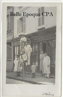 27 - LE NEUBOURG - Vitrerie Cauville +++++ VITRIERS ++++++ Carte-Photo / Parfait état - Le Neubourg