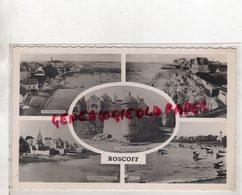 29- ROSCOFF - VUE GENERALE DU PORT-LA PLAGE-LA TOURELLE MARIE STUART-VUE D' ENSEMBLE DES HOTELS - Roscoff