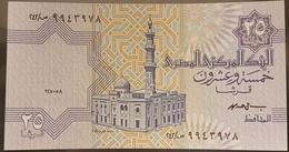 HX - Egypt 1998 Banknote 25p UNC Signed Mohamed - Egypt