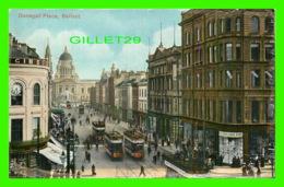 BELFAST, IRLANDE DU NORD - DONEGALL PLACE - ANIMATED - - Antrim / Belfast