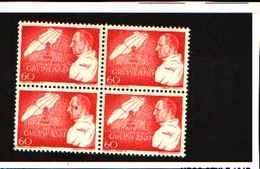 73254)  GROELLANDIA-1969-QUARTINA DEL 70 ANN. NASCITA DI FEDERICO IX-N.61 MNH** - Groenlandia