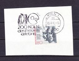 Briefstueck, EF Franck + Born, MS Pinguine Zoo Koeln, 1982 (59670) - Affrancature Meccaniche Rosse (EMA)