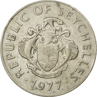 Monnaie, Seychelles, Rupee, 1977, British Royal Mint, TB, Copper-nickel, KM:35 - Seychelles