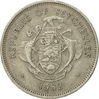 Monnaie, Seychelles, Rupee, 1982, British Royal Mint, TB+, Copper-nickel - Seychelles