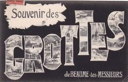 SOUVENIR DES GROTTES DE BEAUME LES MESSIEURS (dil417) - Baume-les-Messieurs