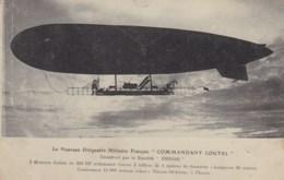 Dirigeable Militaire Français COMMANDANT COUTEL - Airships