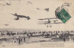 Grande Semaine D'aviation - Les Aéroplanes En Piste - Vue Générale. - Meetings