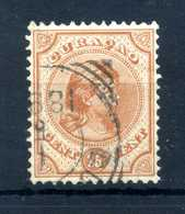 1892 CURACAO N.22 USATO - Curaçao, Antille Olandesi, Aruba