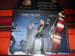 Calendrier  De La Poste 2011 JOHNNY HALLYDAY La Tournée D'adieu/entre Nous ça Ne Finira Jamais !voir Photo Recto -verso - Calendars