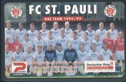 GERMANY Telefonkarte O 645 93 FC St. Pauli - Auflage 7000 - Siehe Scan - 15439 - Deutschland
