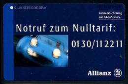 GERMANY Telefonkarte O 1346 95 Allianz - Auflage 50000 - Siehe Scan - 15443 - Deutschland