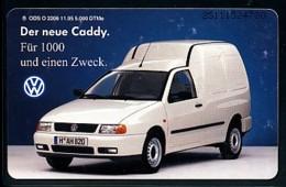 GERMANY Telefonkarte O 2206 95 VW Caddy - Auflage 5000 - Siehe Scan - 15444 - Deutschland