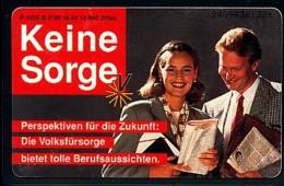GERMANY Telefonkarte O 2190 94 Volksfürsorge - Auflage 14000 - Siehe Scan - 15445 - Deutschland