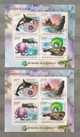 Burundi 2012; Antarctic Fauna, Birds, Orca, Vise; MNH** High Value!! - Burundi