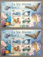 Burundi 2011; Marine Fauna, SeaLife; MNH** High Value!! - Burundi