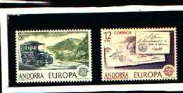 73256)  ANDORRA SPAGNOLA 1979 Europa 2v MNH** - Andorra Spagnola