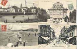 LOT DE 155 CARTES POSTALES ANCIENNES DE LOIRE ATLANTIQUE (44). - France