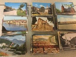 +- 800 Gekleurde Postkaarten  Europa. Jaren  1960/70/80 - Cartes Postales