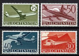 Liechtenstein 1960 // Mi. 391/394 ** (030363) - Liechtenstein