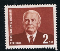 1957 Freimarke Wilhelm Pieck Michel 623 Postfrisch Xx - DDR