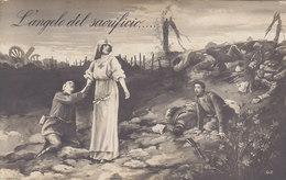 L'ANGOLO DEL SACRIFICIO  /  Propaganda _ Croce Rossa - Croce Rossa