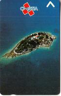 CROATIA(GPT) - Little Island, CN : 3CROC, 06/91, Used - Landschappen