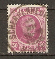 Belgique 1926 - Cachet Scherpenheuvel - Albert Houyoux - Cob 200 - Brabant Flamand - Marcophilie