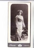 EMILY KARENINA ( GOROWITZ ) MUSIC OPERA  RUSSIA JUDAICA  Photo  AUTOGRAPH KIEV 19.02.1906 85x1170 Mm - Autographs