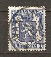 Belgique I/III/1945 - Cachet Wanlin - Petit Sceau De L'état 426 - Province De Namur - Commune De Houyet - Marcophilie