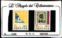 73262)  FOROYAR-1979 Europa 2 V MNH** - Isole Faroer