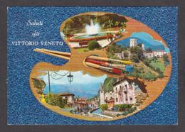 88653/ VITTORIO VENETO Sur La Palette Du Peintre - Italia