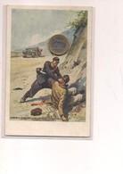 2591) Militari CARABINIERI REALI PUGLIA SALA CONSILINA ED BOERI NON Viaggiata ILLUSTRATORE PISANI - Reggimenti