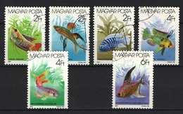 Hungary 1987. Animals / Aquarium Fishes Nice Set, Used ! - Pesci