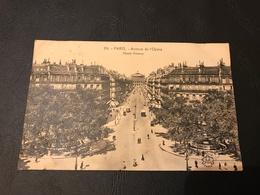 214 - PARIS Avenue De L'Opera - 1923 Timbrée  Tampon JEUX OLYMPIQUES - District 01