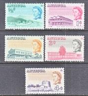 ANTIGUA  167-71   Perf  11 1/2  **  TOURISM - Antigua & Barbuda (...-1981)