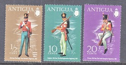 ANTIGUA  283-5  *   MILITARY  UNIFORMS - 1960-1981 Ministerial Government