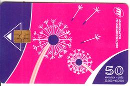 F.Y.R.O.M. - Pink & Blue Design, Chip GEM3.1, Tirage %30000, 11/04, Used - Macedonië