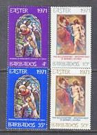 BARBADOS  353-6   **  EASTER - Barbados (1966-...)
