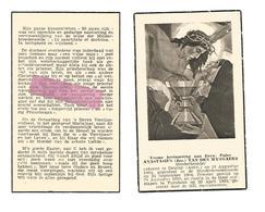 P 719. E/Pater ANASTASIUS (J. VAN DEN WYNGAERT) - °DEURNE (ANTW.) 1884 /+TURNHOUT 1854 - Devotion Images
