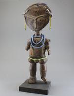 "Fruchtbarkeitspuppe, Fertility Figure ""akua'ba"", Akan Tribe Ghana, Ashanti Region - Art Africain"