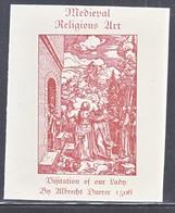 MEDIEVAL  RELIGIOUS  ART  BY  DUERER - Religious