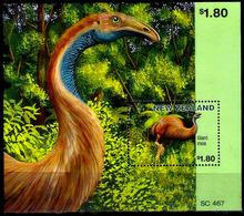 647  Prehistoric Fauna - New Zeland - Bloc - MNH - 2,25 - Timbres