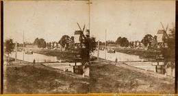 Photo Moulin  Molen A Identifier,indication Dos Incertaine. - Belgium