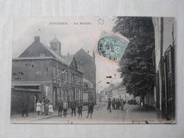 CPA ANIMEE - FOURNES - LA MAIRIE - Commerce