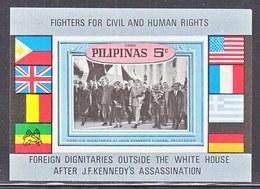 PHILIPPINES  J.F. KENNEDY  ASSASSINATION  ** - Kennedy (John F.)