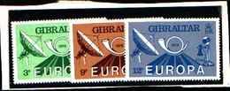 73265)  GIBILTERRA-1979 Europa 3 V MNH** - Gibilterra