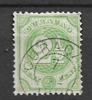 1889 USED Curaçao Gestempeld. - Curacao, Netherlands Antilles, Aruba